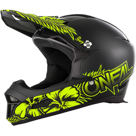 O'Neal Fury RL Casque, maui black/neon yellow